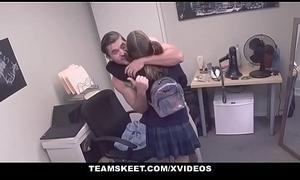 TeamSkeet - Highschool Chick Geting Dick