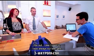 Step-Mom Teaches Mating far Inexperienced Son-in-Law - 3-Way Porn