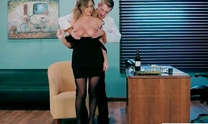 Office Girl (Alexis Adams) With Big Round Melon Tits Comparable to Sex mov-02